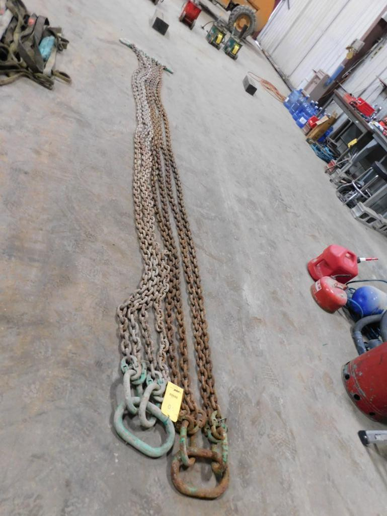 LOT: (2) Chain Lifting Slings