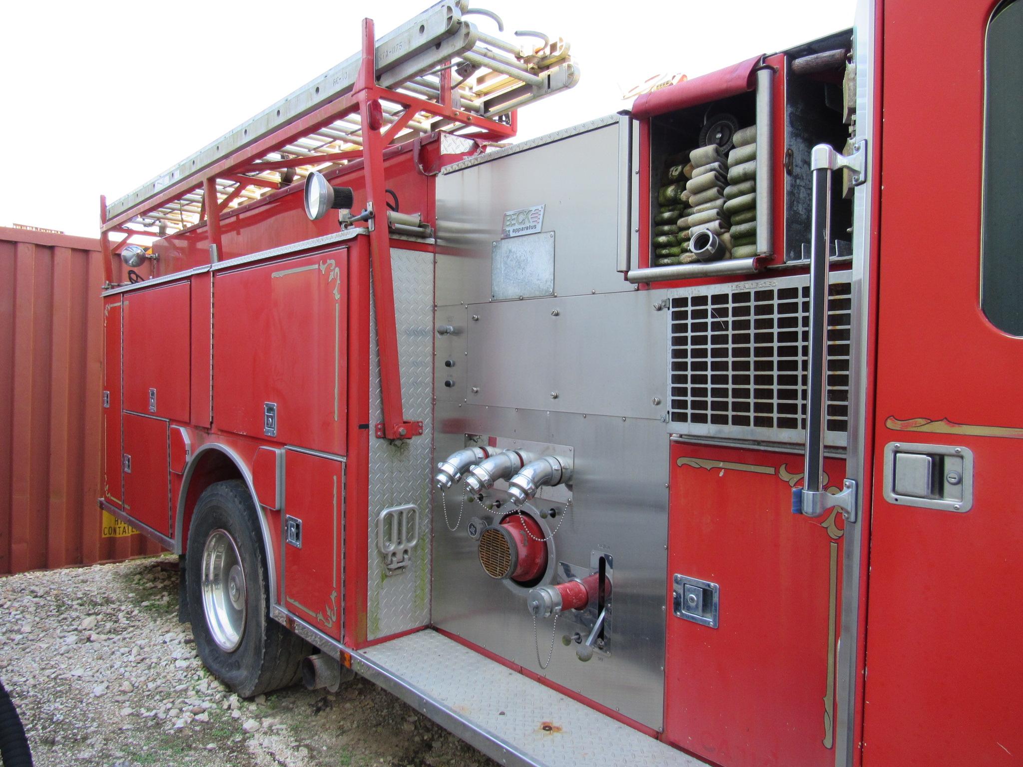 Ottawa / Beck Fire Truck - Image 5 of 6