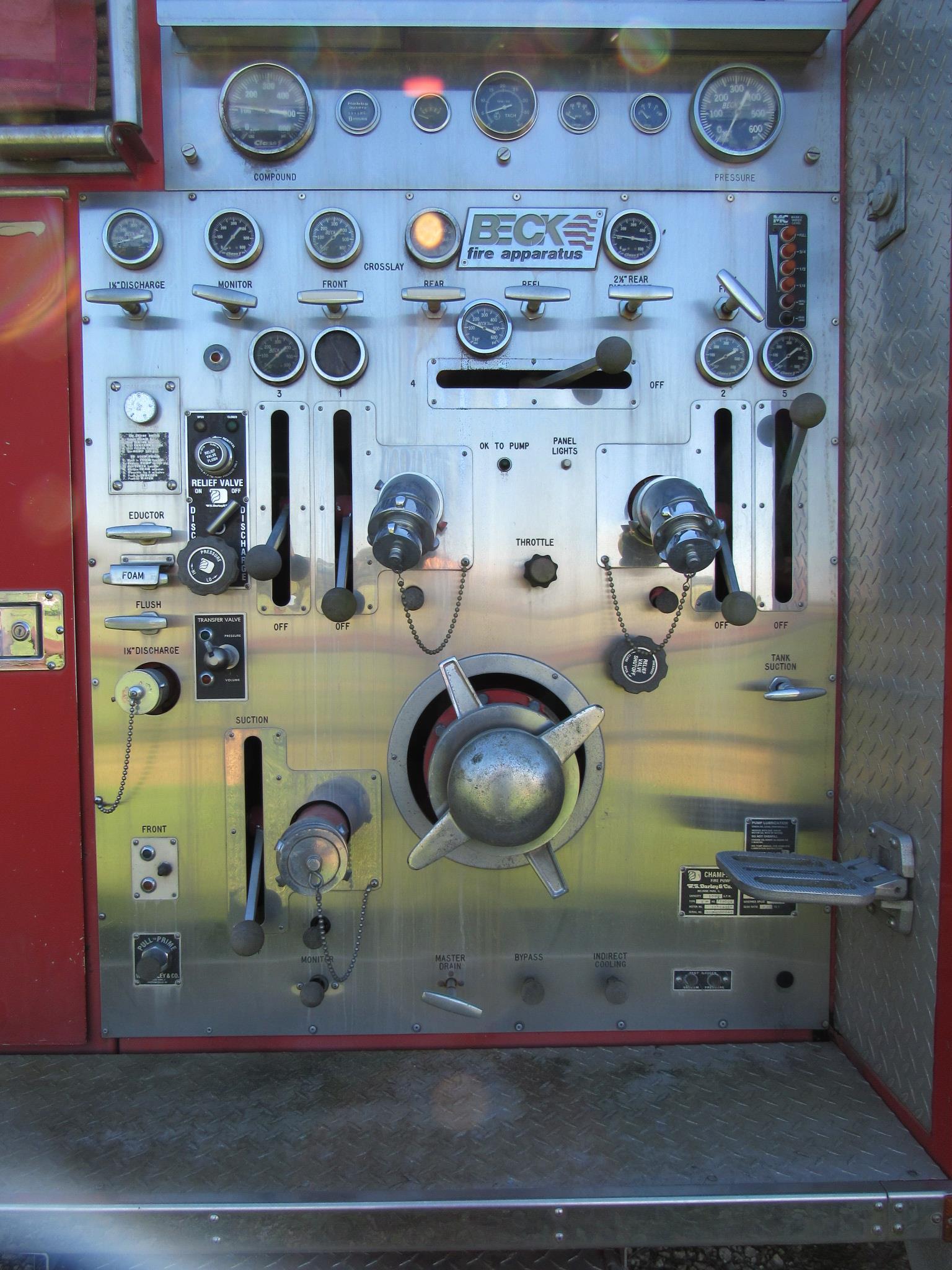 Ottawa / Beck Fire Truck - Image 3 of 6
