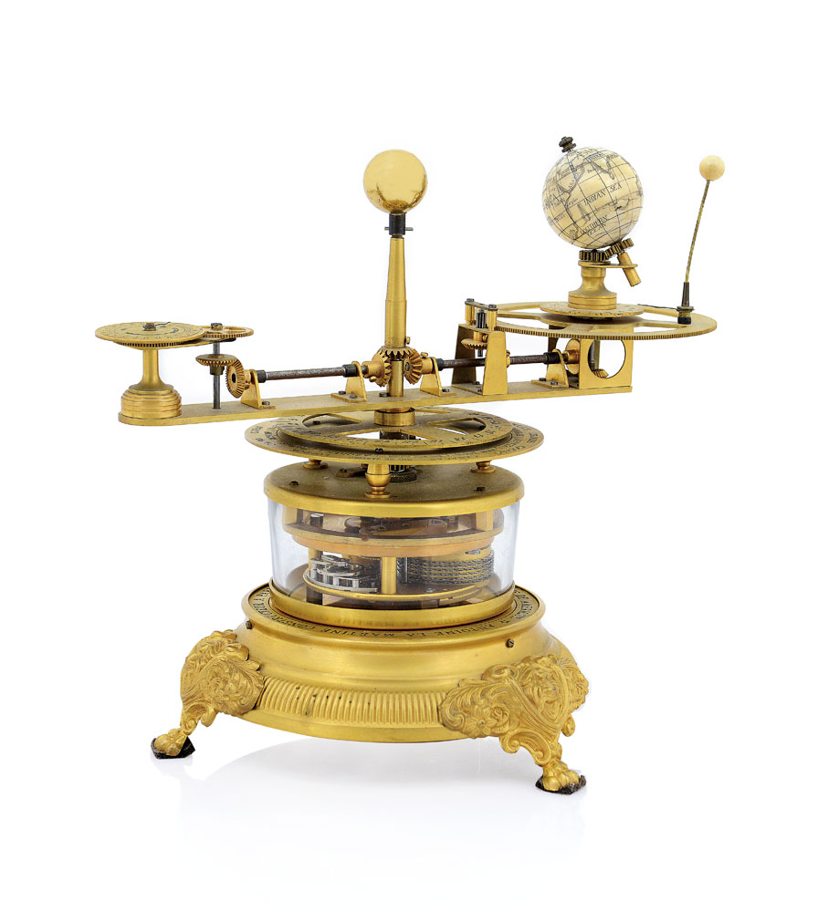 Orologio da tavolo orologio da tavolo con planetario in - Dalvey orologio da tavolo ...