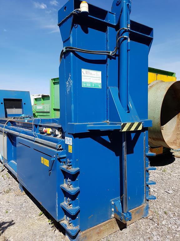 Waste Handling Solutions 80 tonnes capacity horizontal Baler - Image 7 of 13