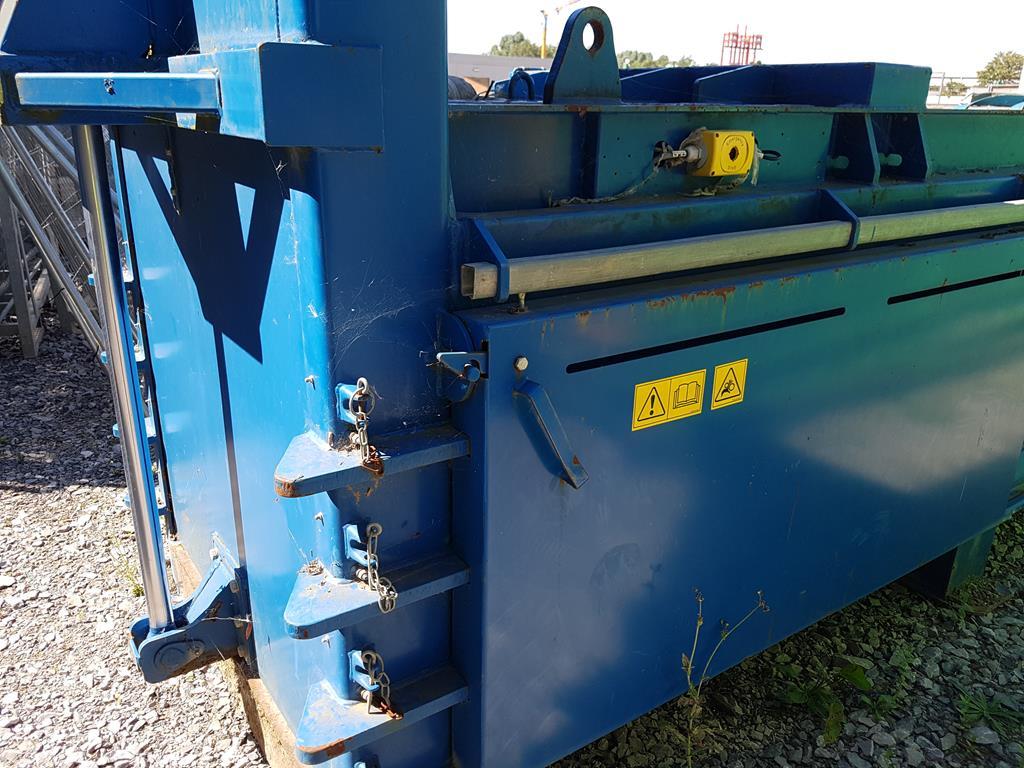 Waste Handling Solutions 80 tonnes capacity horizontal Baler - Image 8 of 13