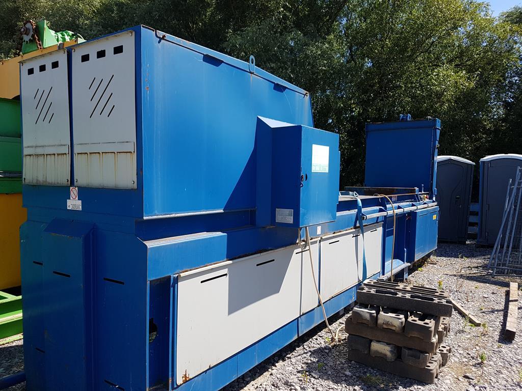 Waste Handling Solutions 80 tonnes capacity horizontal Baler - Image 11 of 13
