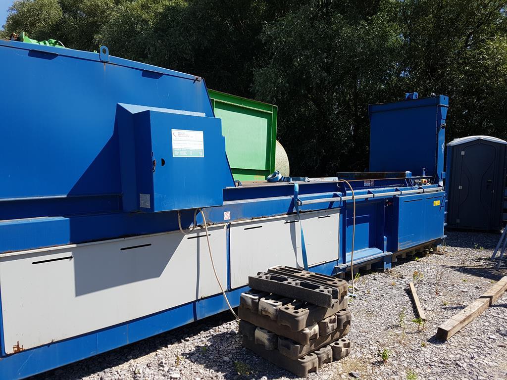 Waste Handling Solutions 80 tonnes capacity horizontal Baler - Image 2 of 13