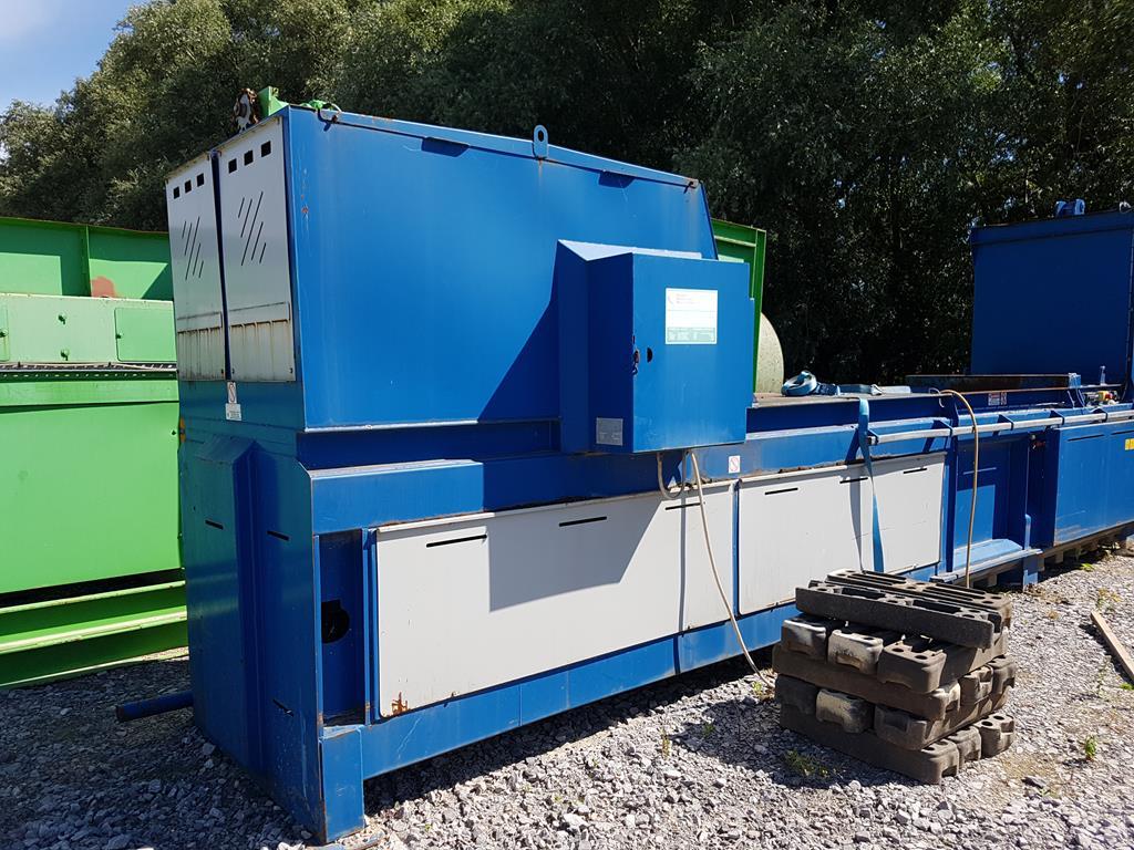 Waste Handling Solutions 80 tonnes capacity horizontal Baler