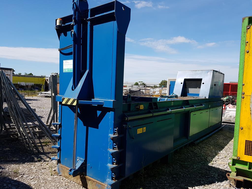 Waste Handling Solutions 80 tonnes capacity horizontal Baler - Image 3 of 13