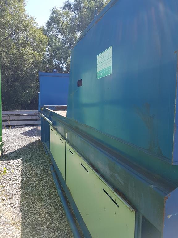 Waste Handling Solutions 80 tonnes capacity horizontal Baler - Image 9 of 13