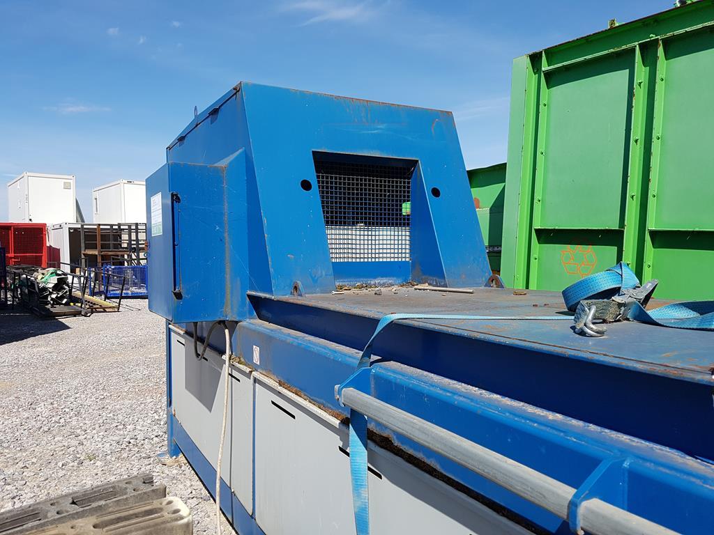 Waste Handling Solutions 80 tonnes capacity horizontal Baler - Image 5 of 13