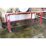 LOT - (2) CARTS AND (1) 6' WORKBENCH