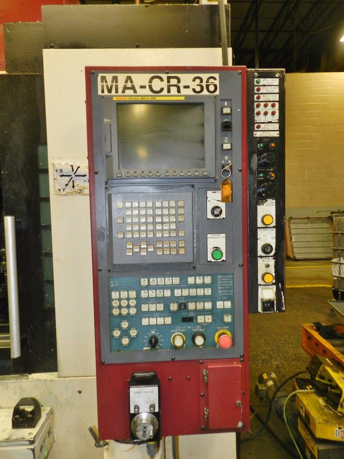 Lot 24 - OKK MDV-55 Vertical Machining Center