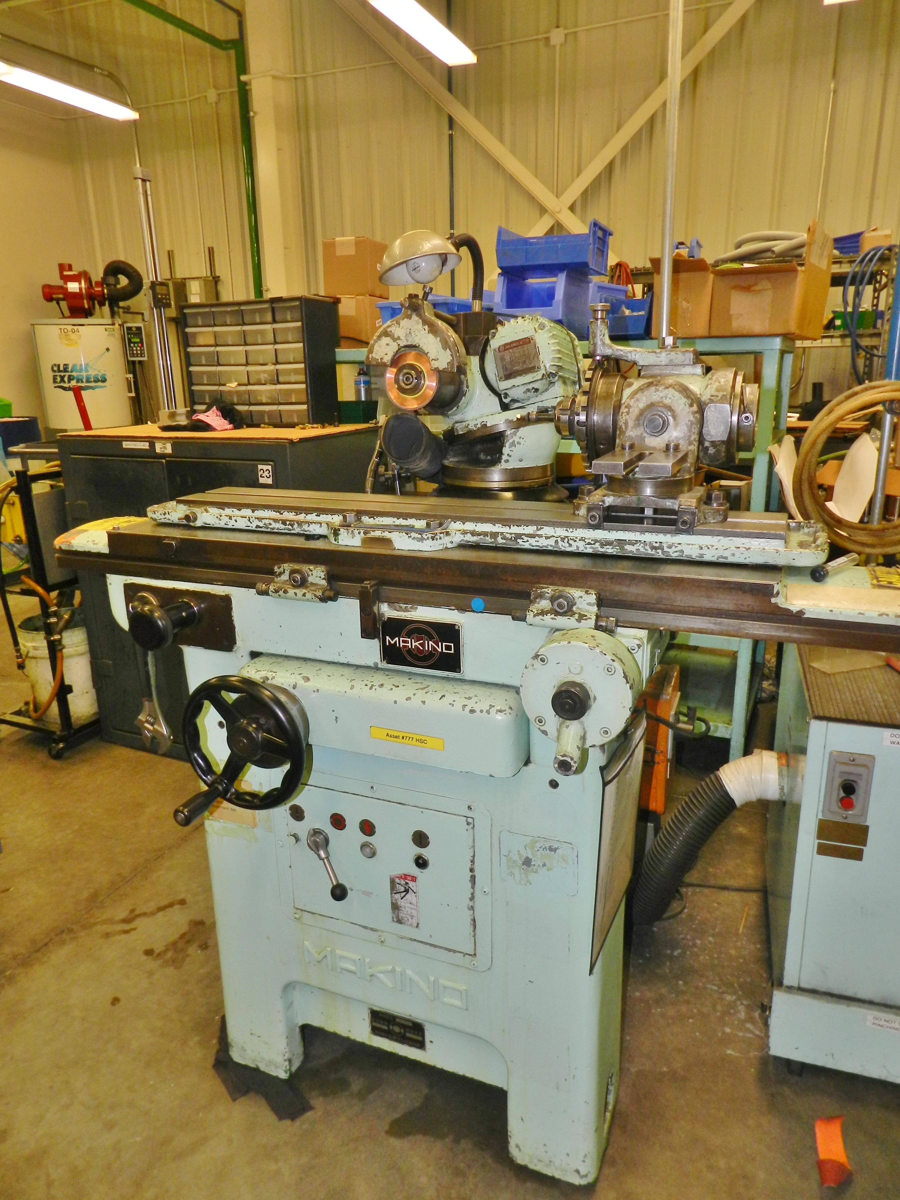 Lot 53 - Makino C-40 Universal Tool & Cutter Grinder