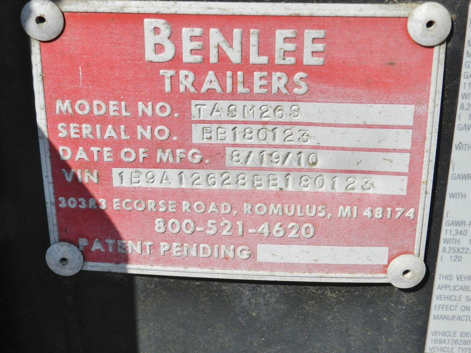 Lot 35 - 2010 Benlee Roll-Off Trailer