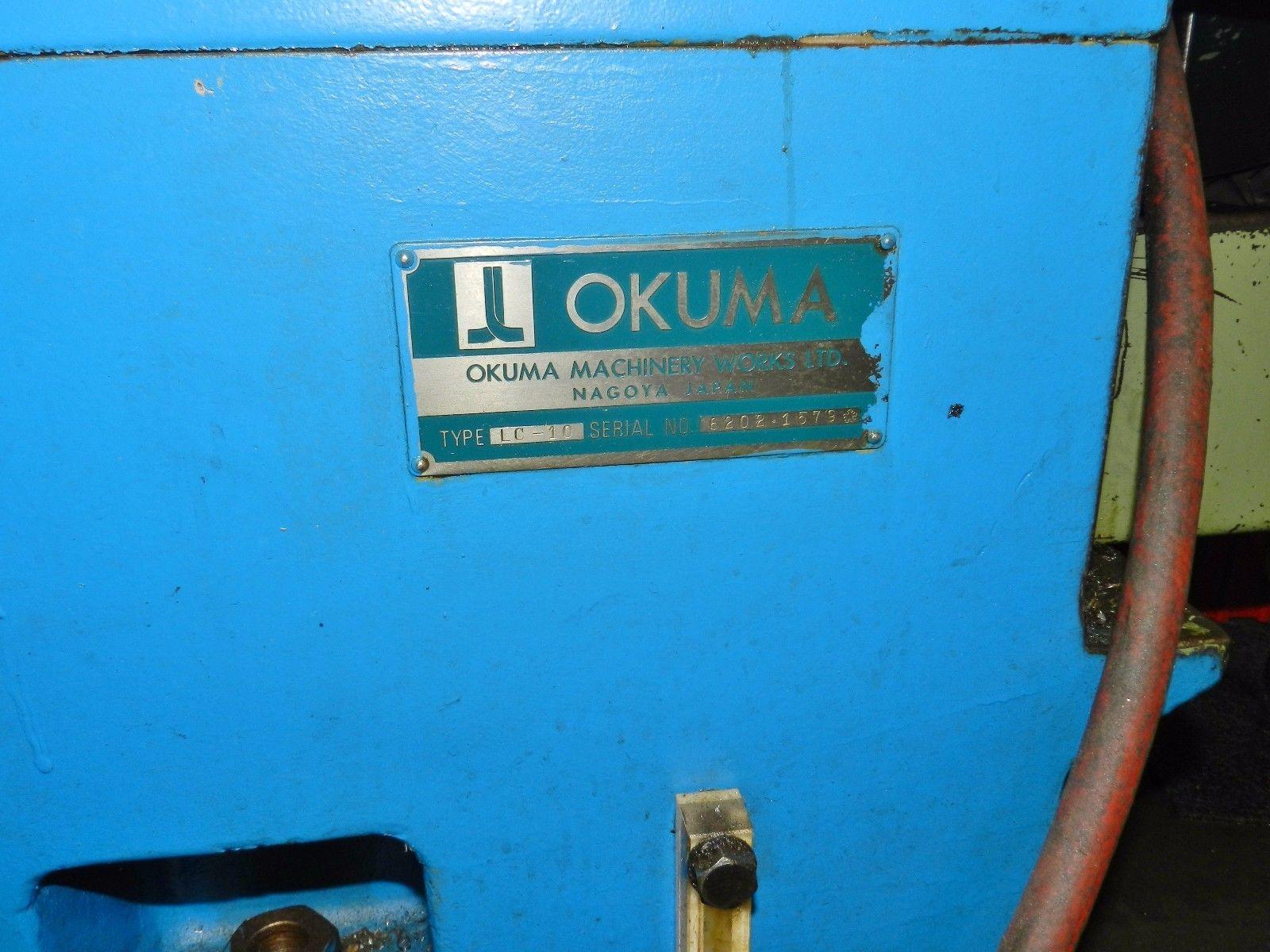 Lot 26 - Okuma LC-10 4-Axis Simulturn CNC Lathe