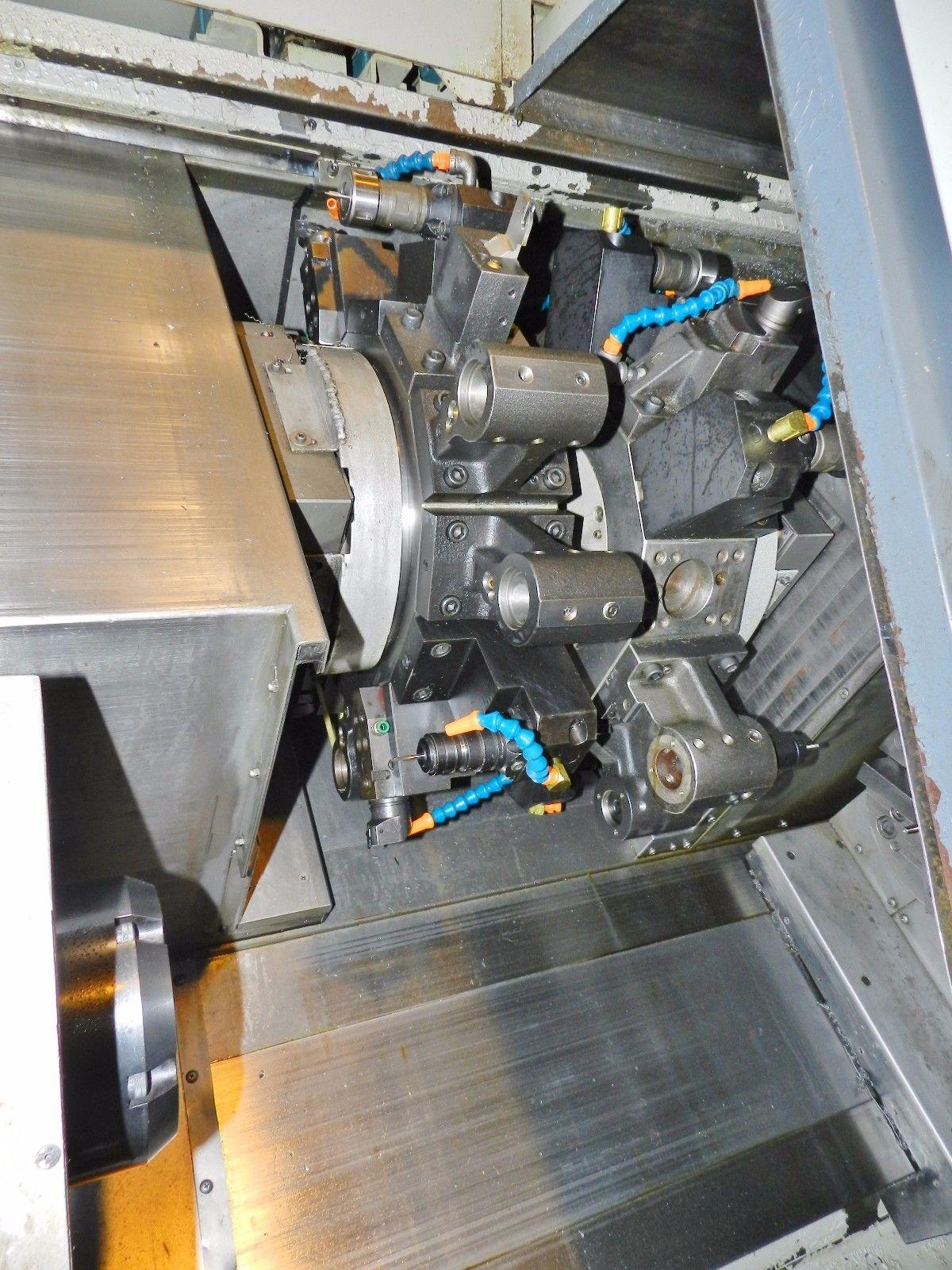Lot 20 - Mori Seiki DL-20 Twin Spindle CNC Lathe