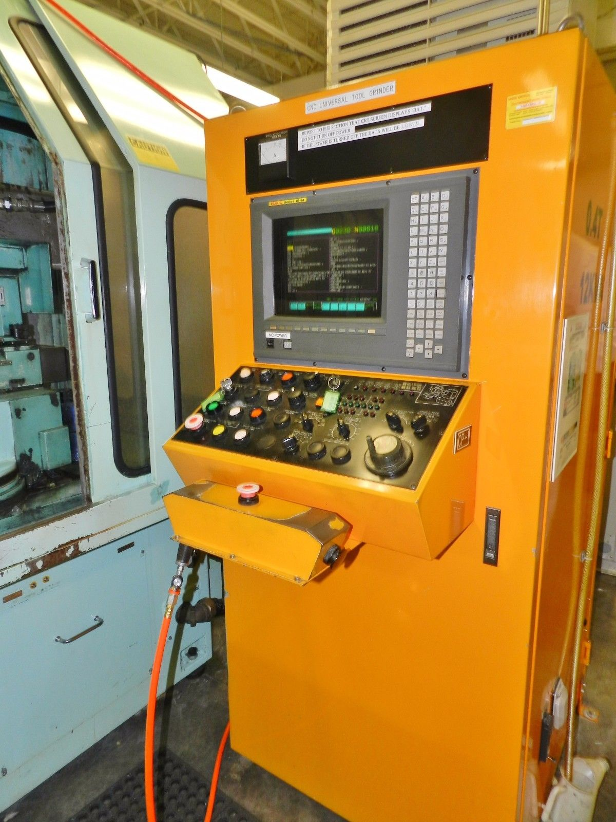 Lot 25 - 6-Axis CNC Tool Cutter Machine w/Fanuc Control