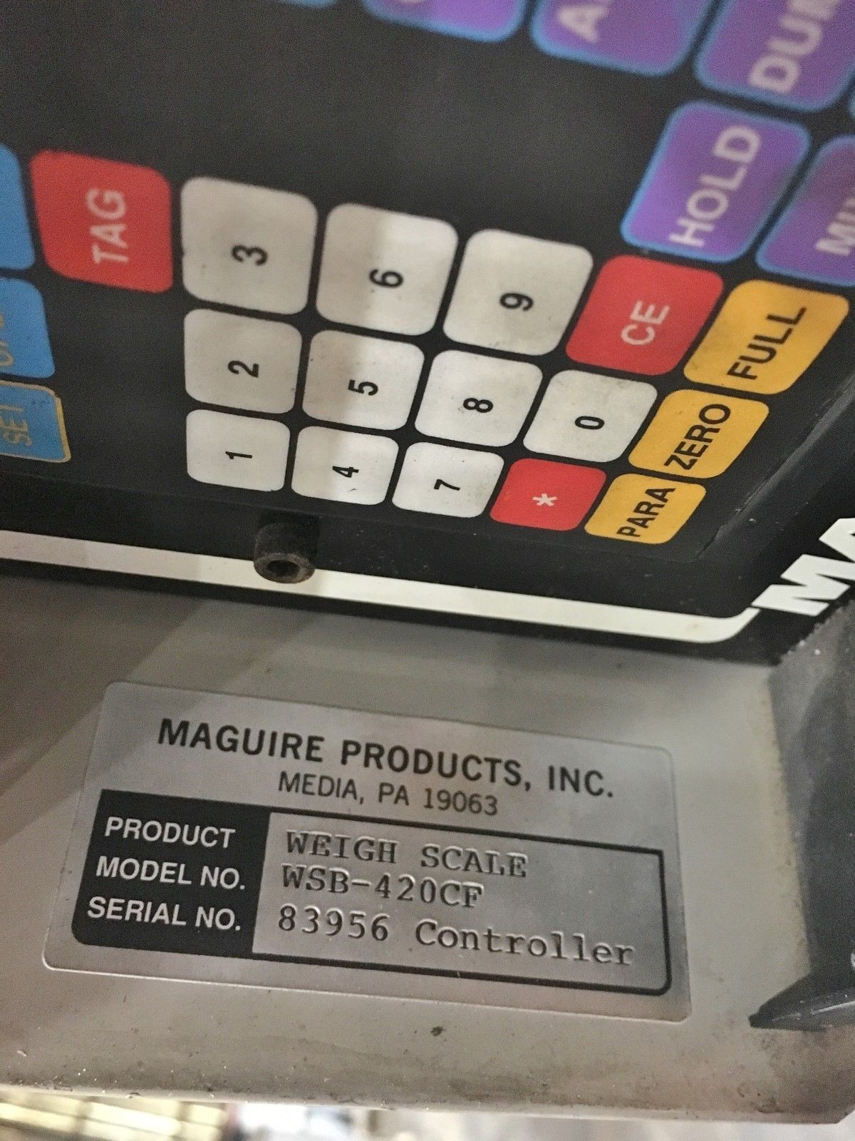 Lot 12 - Maguire Gravimetric Blender