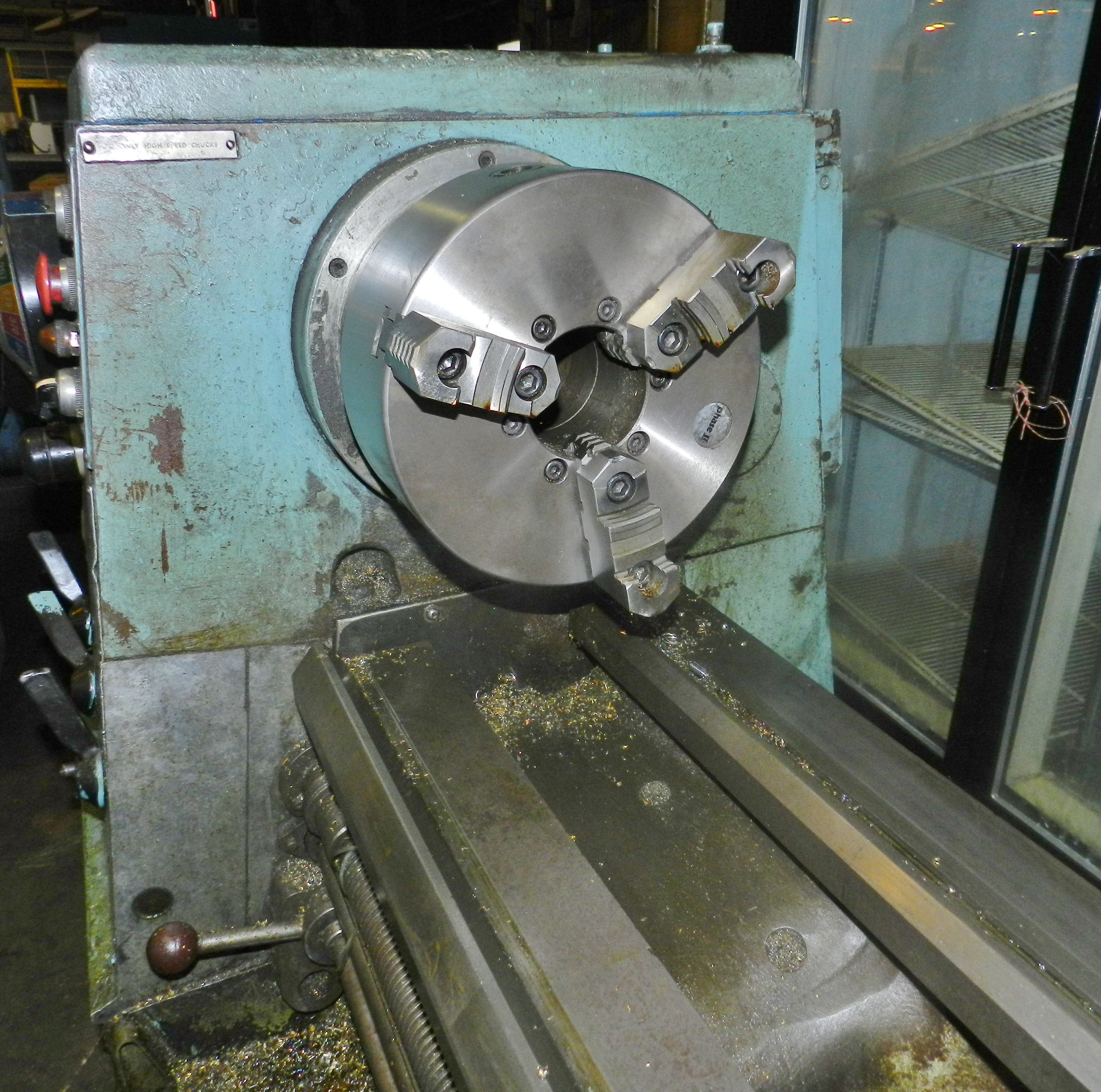 """Lot 63 - Clausing Colchester 17"""" x 80"""" Gap Bed Engine Lathe"""