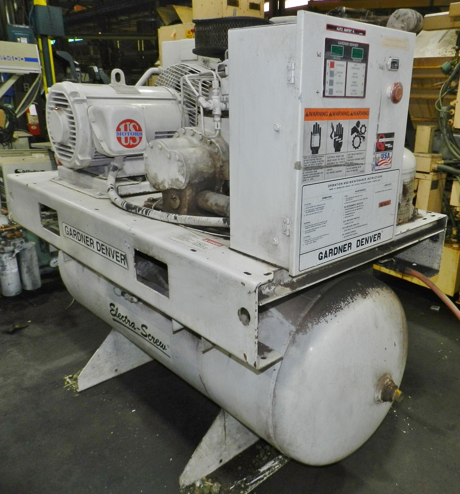 Lot 39 - Gardner Denver 30HP Air-Compressor w/ Dryer