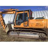 1998 Hyundai 180LC-3 Trackhoe s/n 8101D110287 5.9L Cummins Eng Hrs Not Available (Rake to fit Hoe
