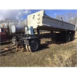 1999 Trojan T/A End Dump Trailer VIN 2T9GAECWGXE003416 Spring Susp, C/W S/A Air Ride Dolly, Wet