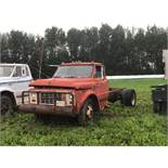 GMC 940 Cab & Chassis 283 Eng, (Parts Only) Truck was running when parked some years ago. 283