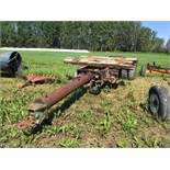 T/A Trailer Frame & Chassis. Pintle Hitch