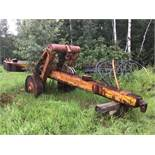Antique Caterpillar 3-Shank Seeder s/n 60913 c/w Only 1 Shank, Cable Lift s/n 60913 c/w Only 1