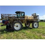 1995 Rogator 844 80ft High Clearance Sprayer s/n 8408705 5.9L Cummins Eng, 3829hrs, 800g Tank, Tri-