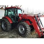 2017 TYM T1054 MFWD Loader Tractor s/n 108PJ00083 90hrs, 100hp, 1000 + 540 PTO, 3ph, Rear Camera C/W