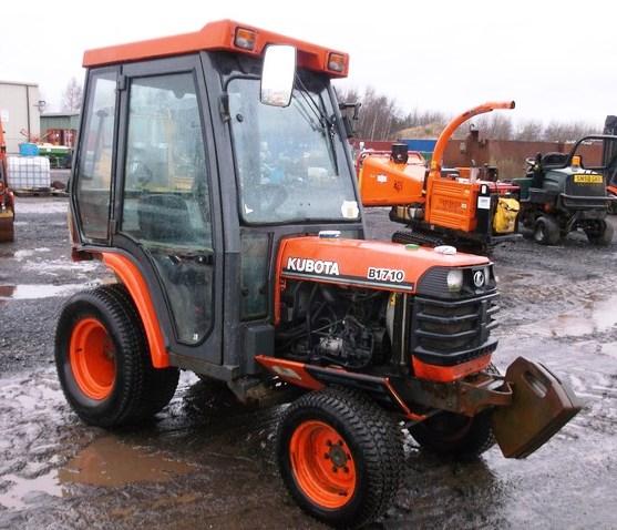 Kubota Tractor Weights : Kubota tractor b reg no sn jxy hours c w