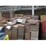900 square PAVERS