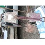 6 x steel handle SHOVELS