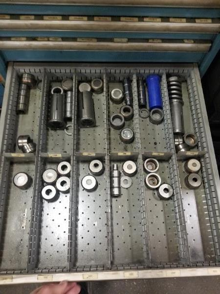 (2) Cabinets Complete with Amada Thick Style Tooling (Cabinets Included) - Image 10 of 16
