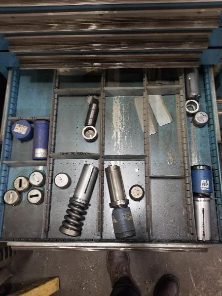 (2) Cabinets Complete with Amada Thick Style Tooling (Cabinets Included) - Image 15 of 16