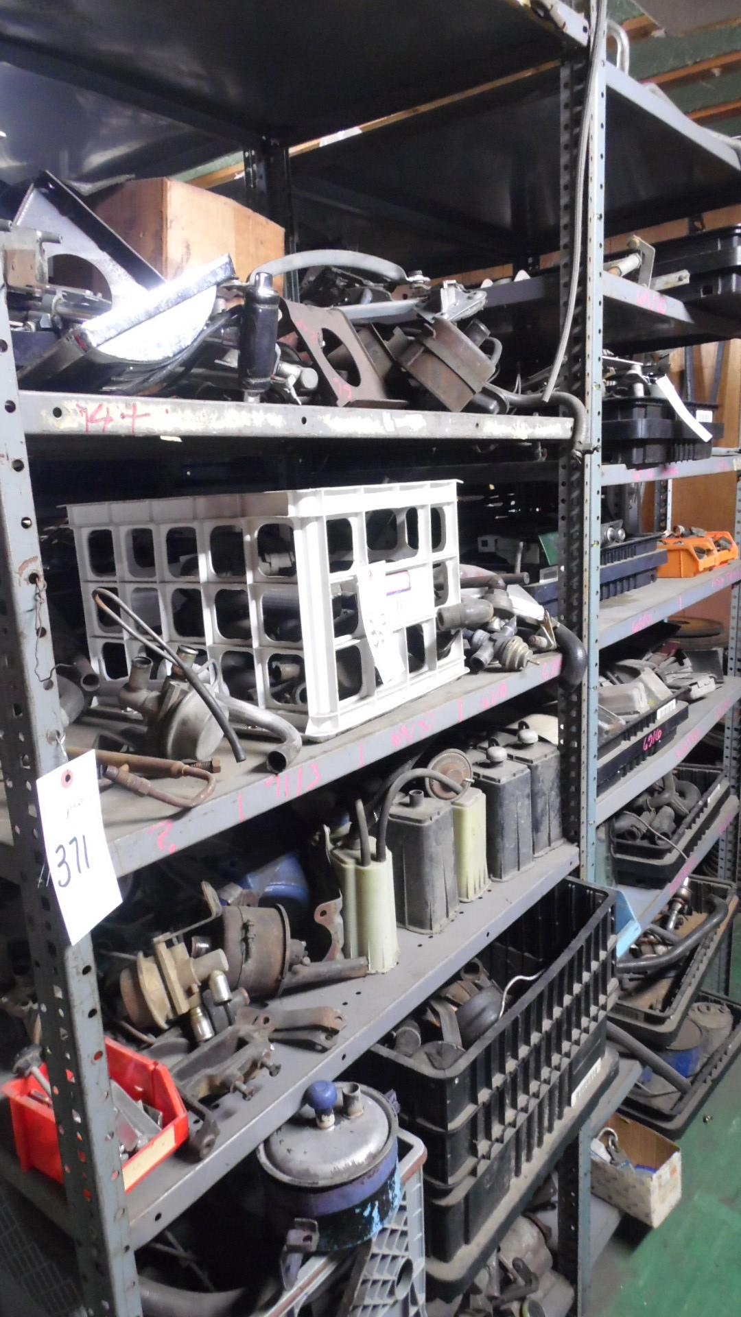 Lot 371 - SECTIONS STOCKROOM SHELVING