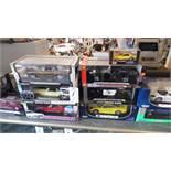 1:18 SCALE CARS IN BOX (12 QTY)