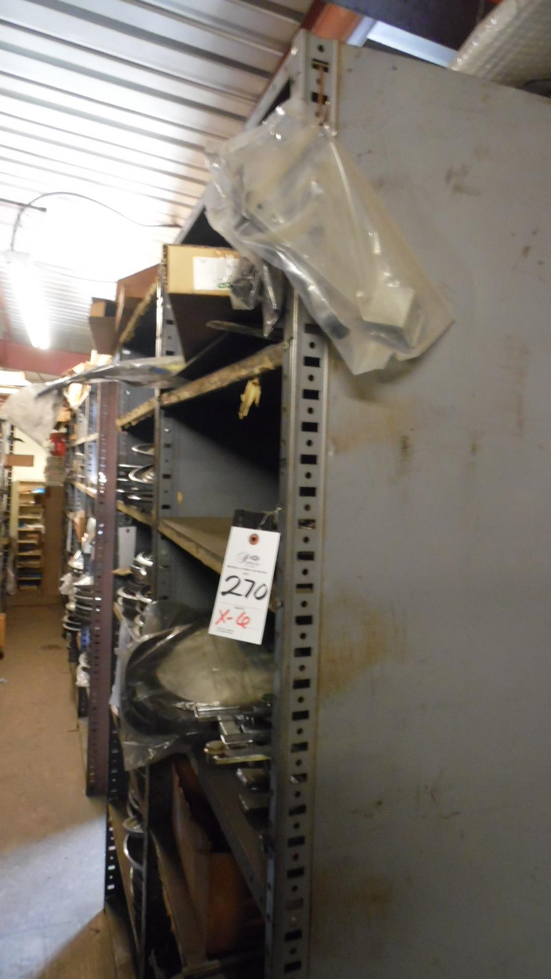 Lot 270 - SECTIONS STOCKROOM SHELVING