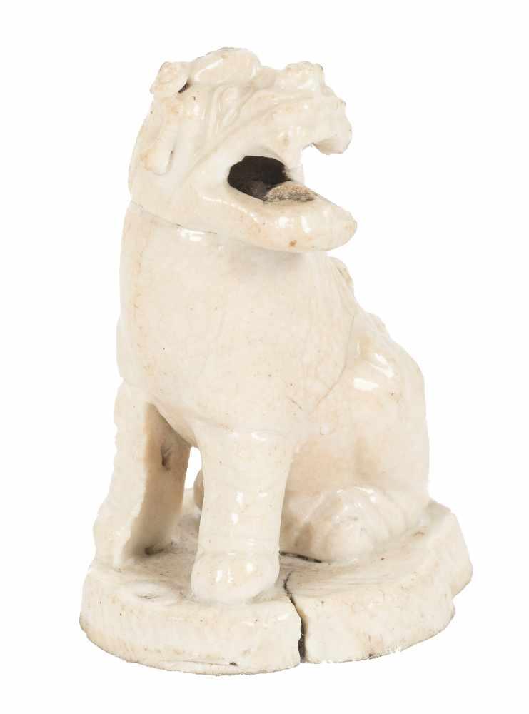 Kylin in white porcelain. China. Ming Period (1368-1644)5,5 x 4 x 3 cm. - Bild 2 aus 6