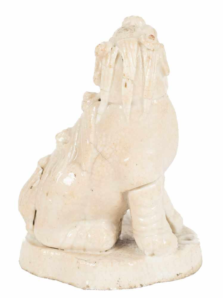 Kylin in white porcelain. China. Ming Period (1368-1644)5,5 x 4 x 3 cm. - Bild 3 aus 6
