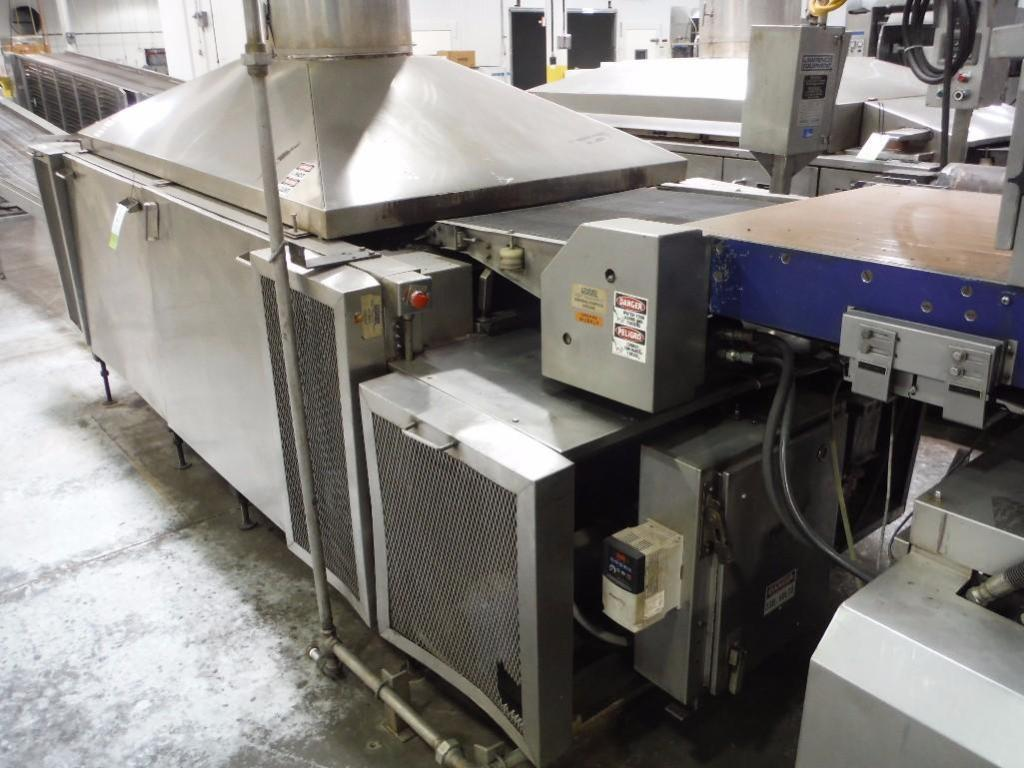 Lawrence 3 pass oven, Model 0F03410-02, SN F0204, 1,000,000 BTU, Natural Gas, 108 in. long x 36 in. - Image 3 of 6