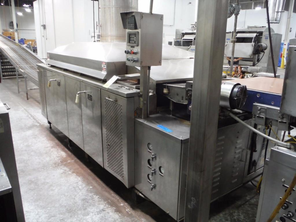 Lawrence 3 pass oven, Model 0F03410-15, SN F0342, 1,000,000 BTU, Natural Gas, 108 in. long x 36 in. - Image 3 of 6