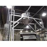 SS mezzanine, 15 ft. long x 6 ft. wide x 15 ft. tall / Rigging Fee: $306