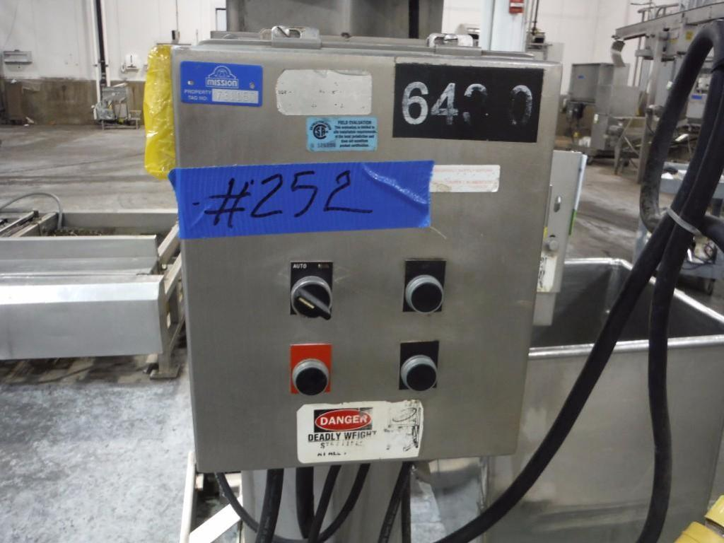 FPEC tote lift, Model VL18, SN 3769, max discharge 12 ft. tall / Rigging Fee: $375 - Image 5 of 5