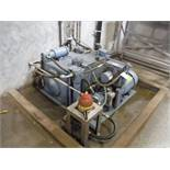 Polypac Systems Center hydrualic power pack with heat exchanger, 40 hp drive / Rigging Fee: $250