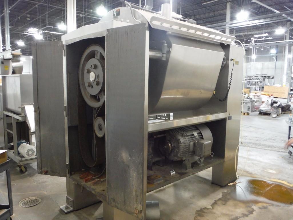 SS Peerless rollerbar mixer, Model HS10FD, SN 205052, with control panel, 75/36.5 hp, Allen- - Image 6 of 12
