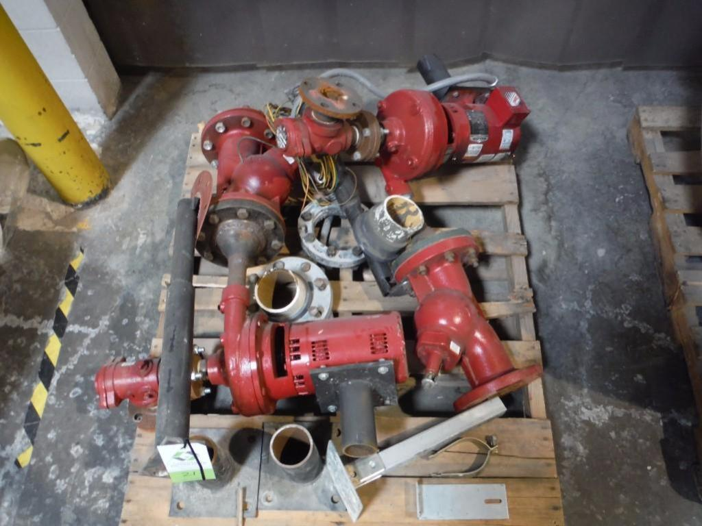 Assorted pumps and flanges / Rigging Fee: $25 - Image 4 of 4