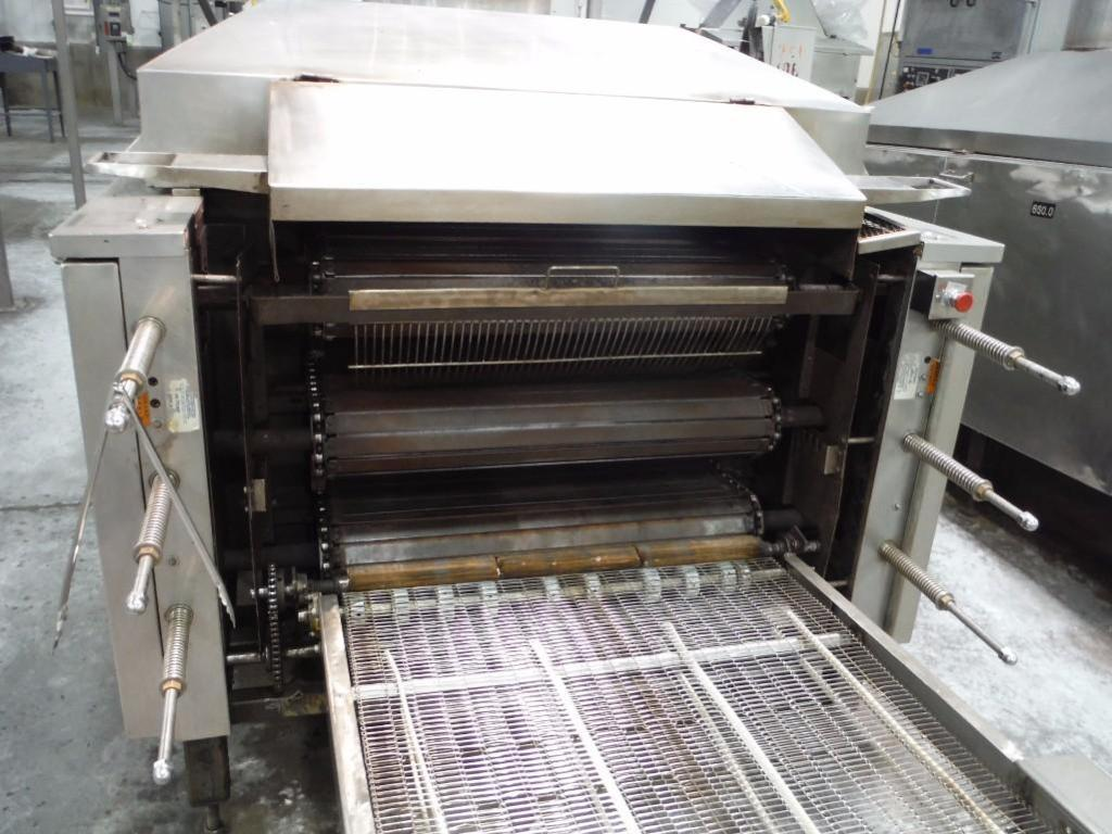 Lawrence 3 pass oven, Model 0F03410-15, SN F0342, 1,000,000 BTU, Natural Gas, 108 in. long x 36 in. - Image 2 of 6