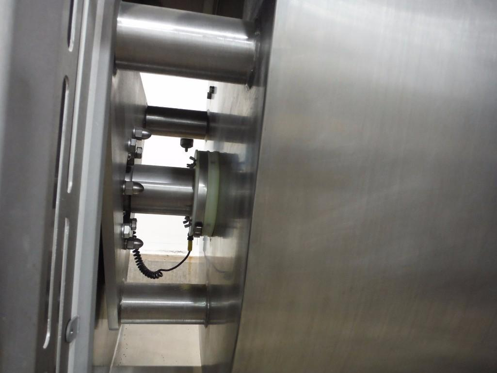 SS Peerless rollerbar mixer, Model HS10FD, SN 205052, with control panel, 75/36.5 hp, Allen- - Image 7 of 12