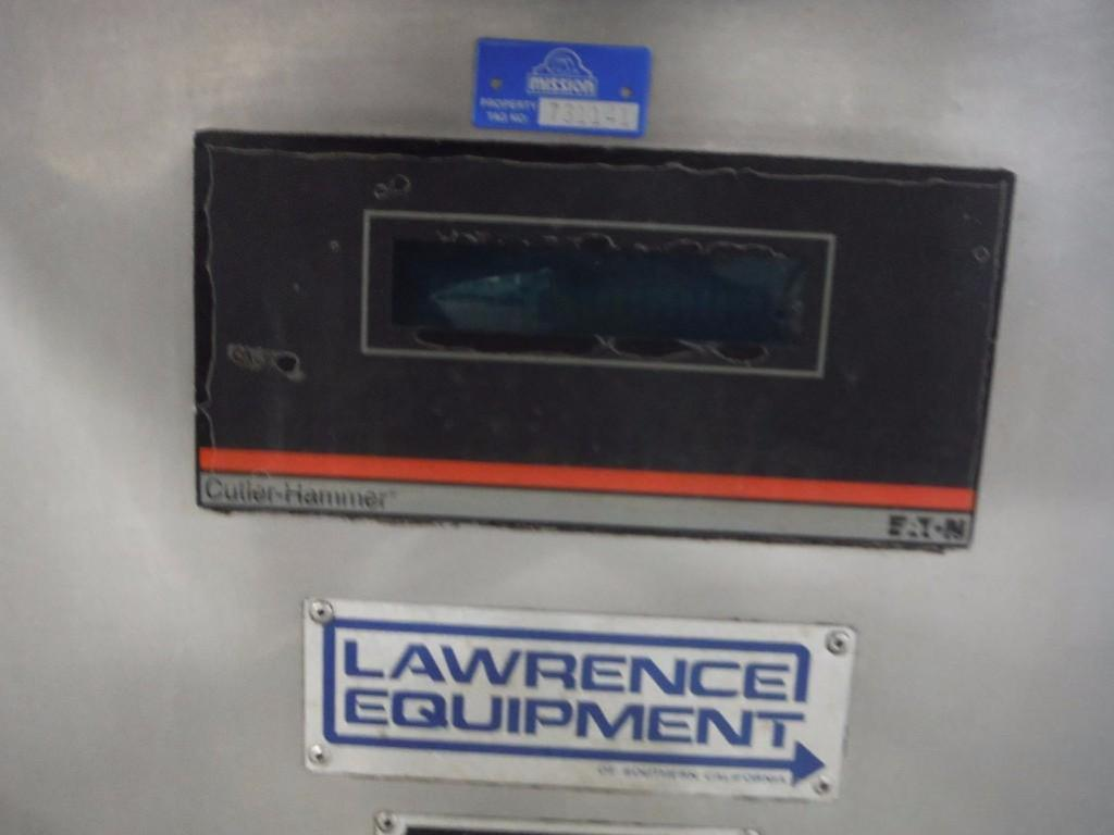 Lawrence equipment 4x4 legend press, Model OFP3233-09, SN FP389, 33 in. x 33 in. / Rigging Fee: $650 - Image 4 of 7