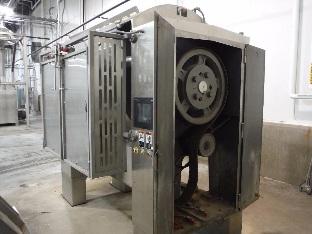 SS Peerless rollerbar mixer, Model HS10FD, SN 205052, with control panel, 75/36.5 hp, Allen- - Image 5 of 12